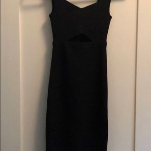 Marciano sexy black dress, stretchy and amazing.